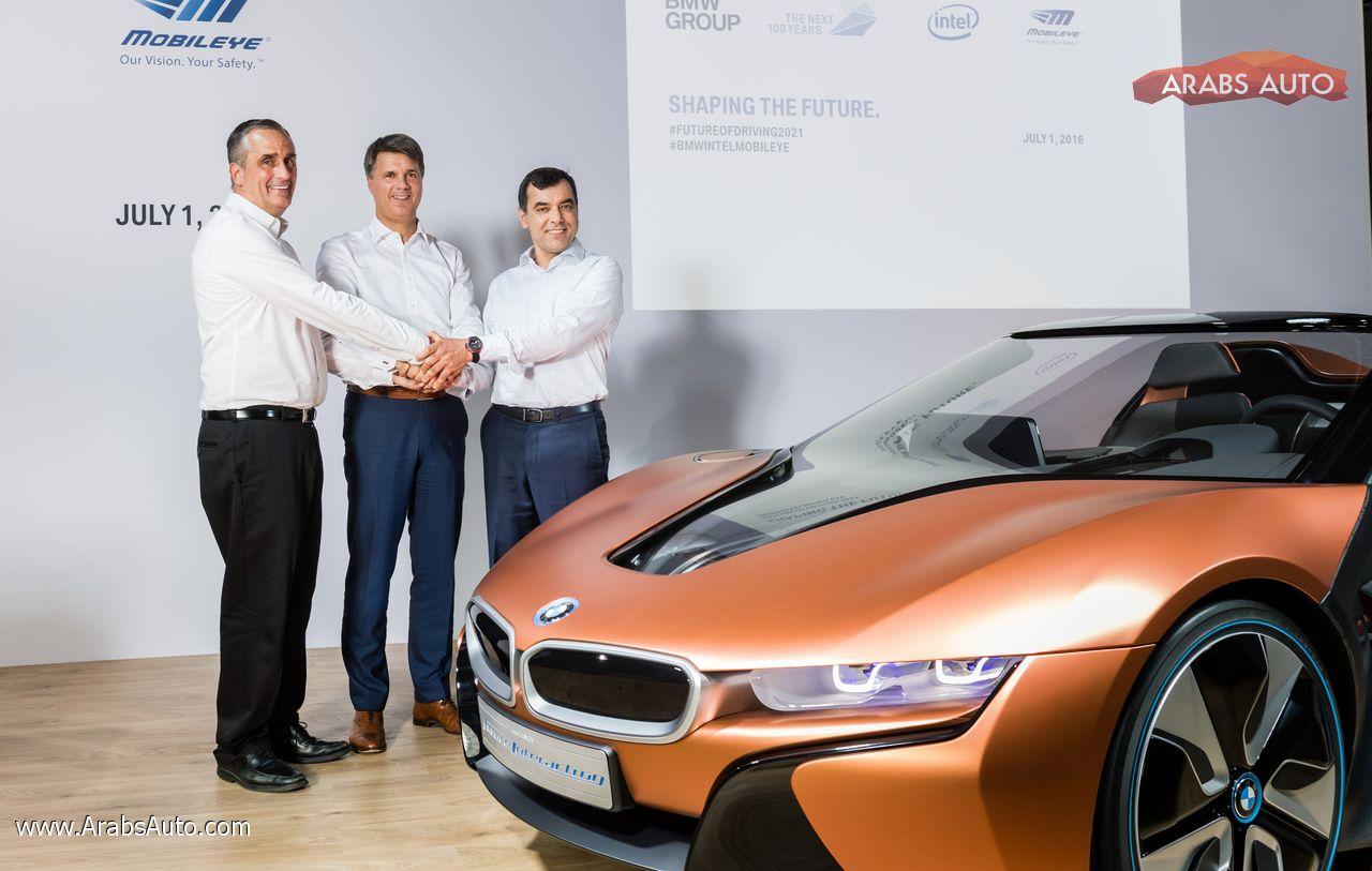ArabsAuto BMW Group, Intel and Mobileye 2016 1