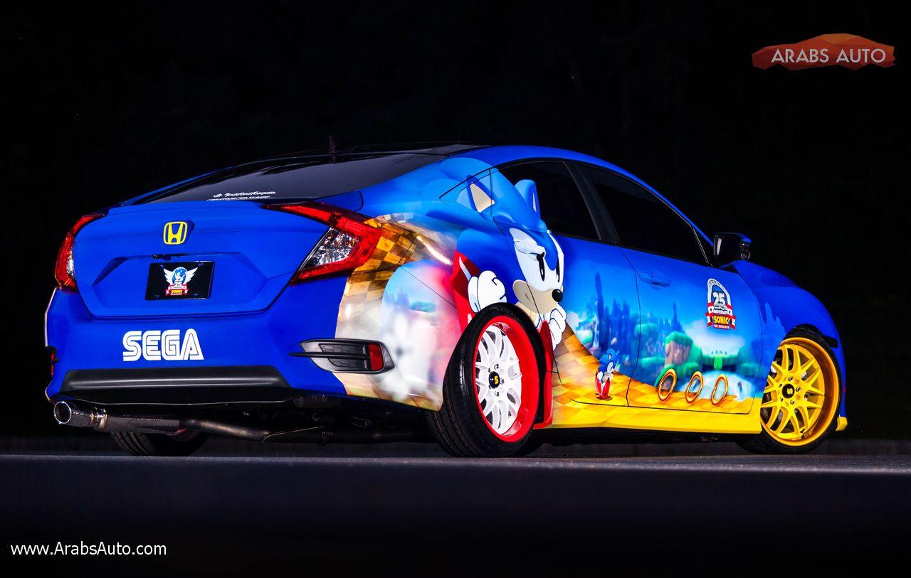 Photo of سيفيك سونيك نتاج حب السيارات مع ألعاب الكمبيوتر !