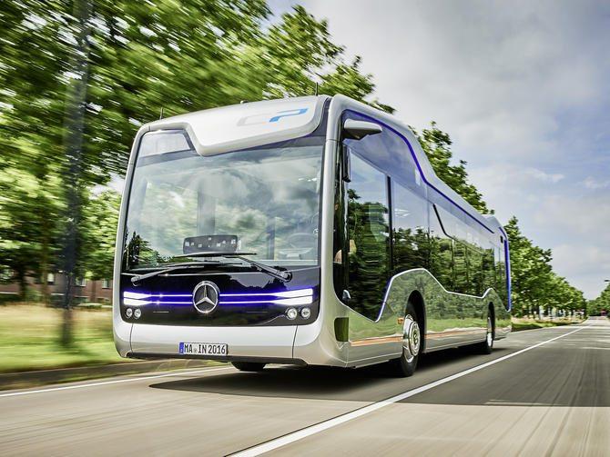 Photo of حافلة المستقبل من مرسيدس