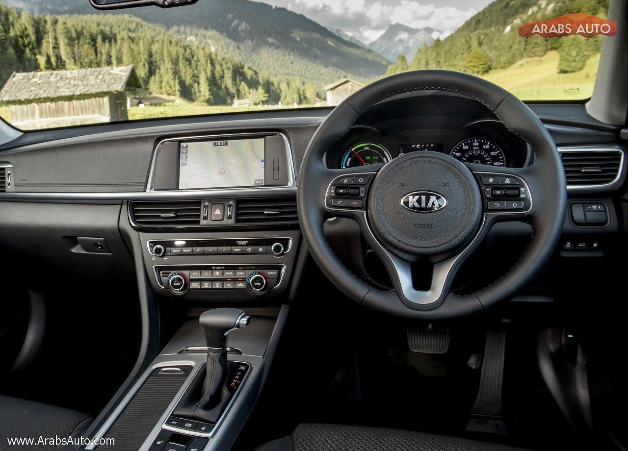 ArabsAuto Kia Optima PHEV [UK] (2017)   3
