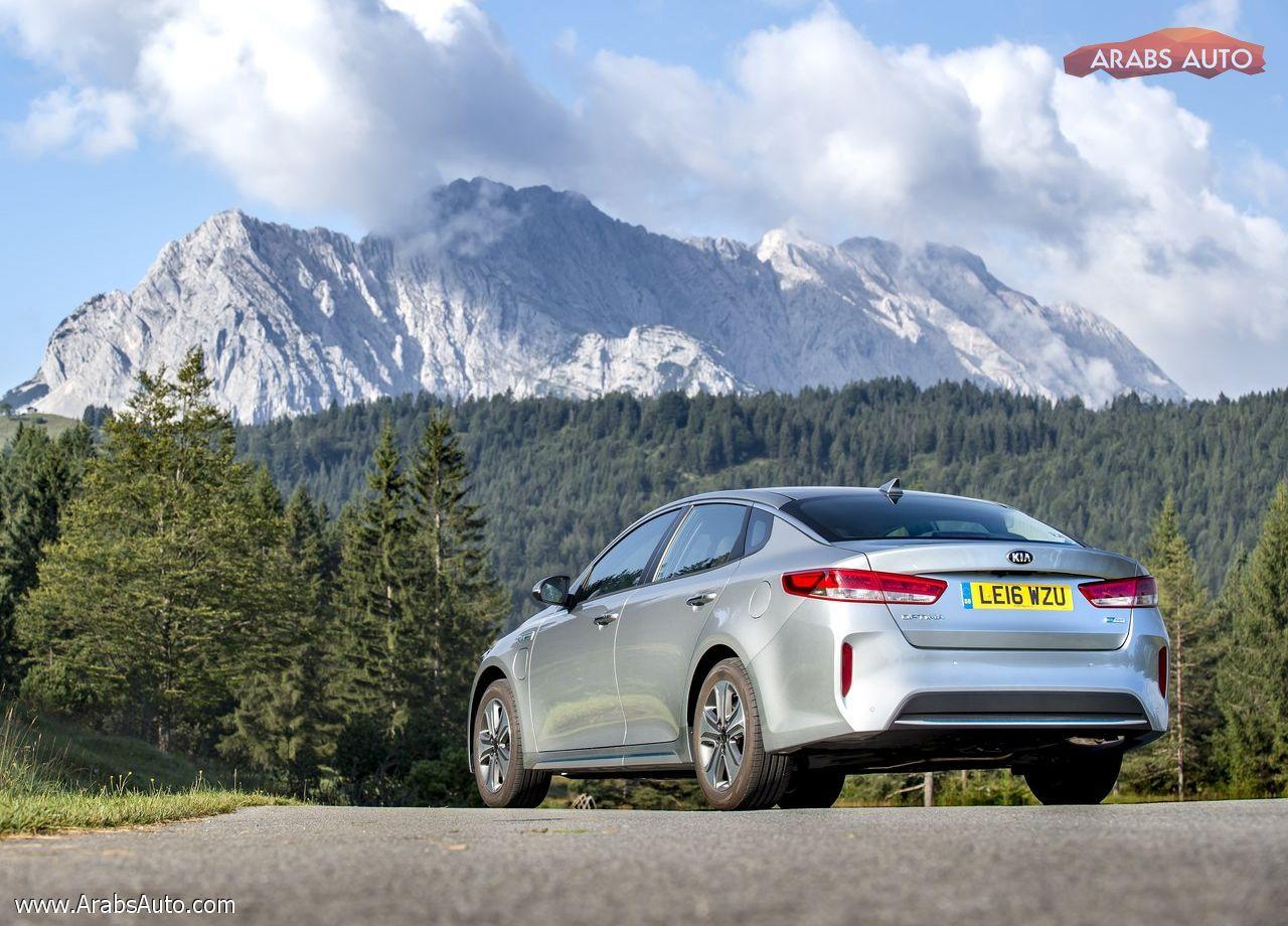 ArabsAuto Kia Optima PHEV [UK] (2017)   7