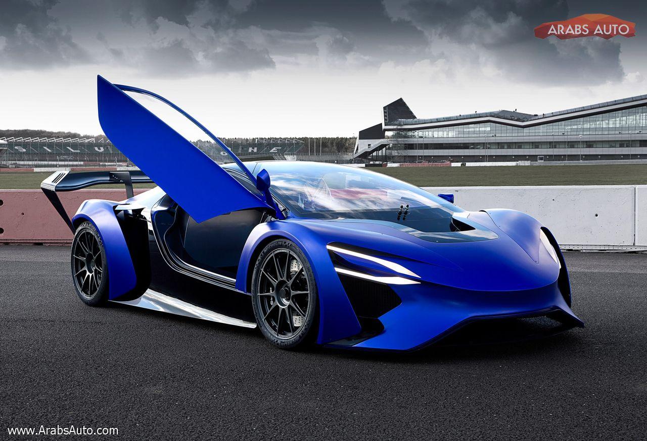 ArabsAuto Techrules GT96 Concept 1