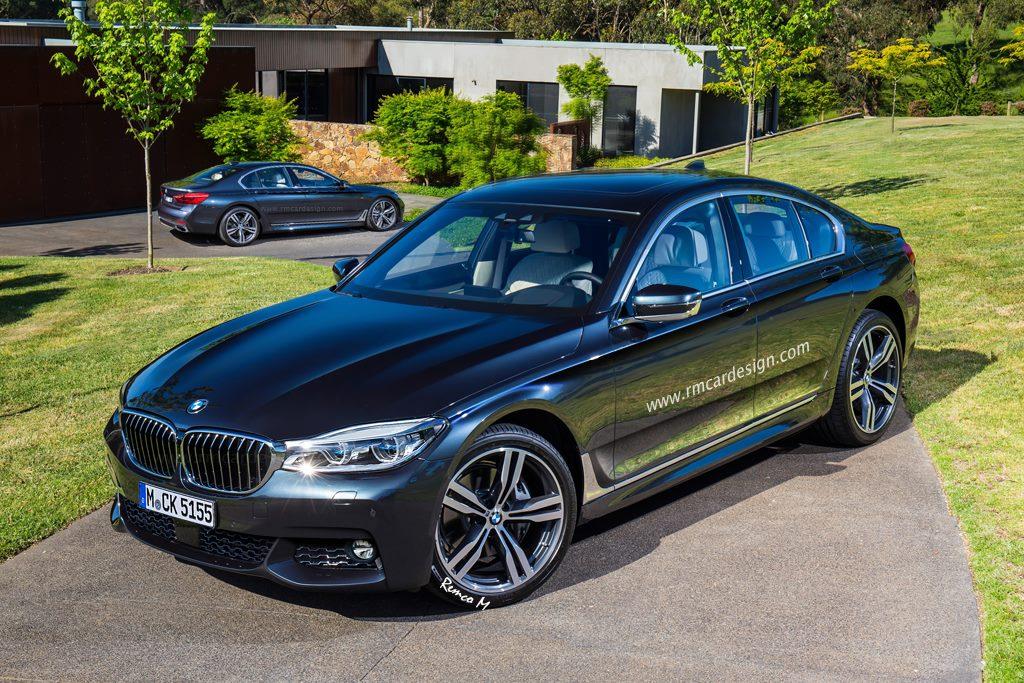 BMW 5 Series rendered 2016