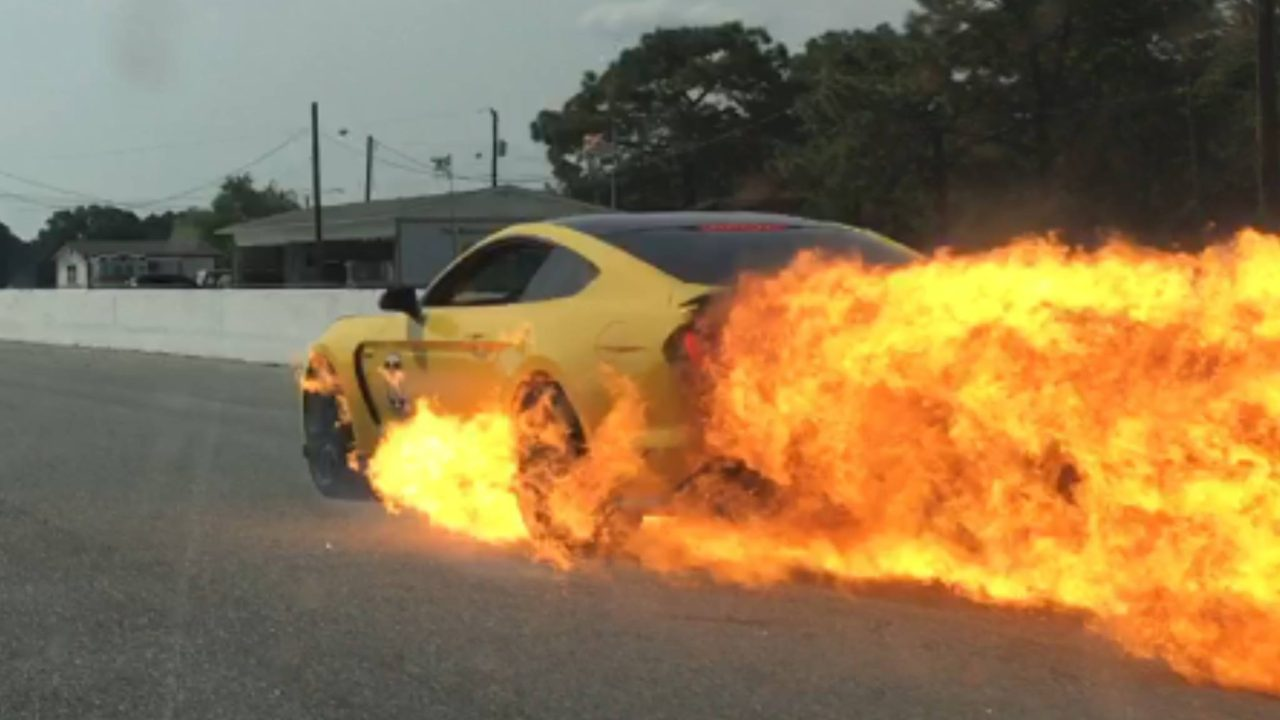 Photo of موستانغ .. سيارة ملتهبة بكل معنى الكلمة !