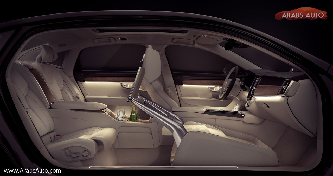 Photo of فولفو S90 Excellence عنوان الفخامة الجديد
