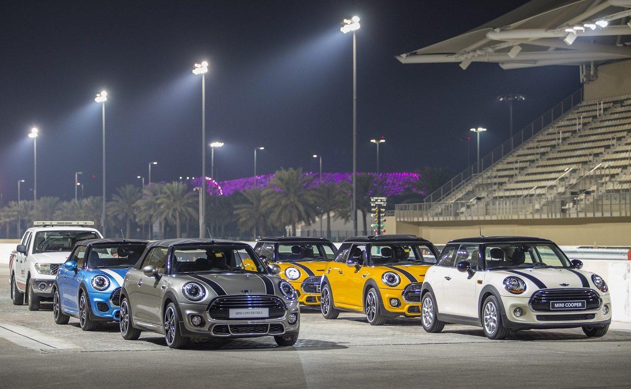 صورة ميني تقدم أداءً متميزاً في العاصمة الإماراتية