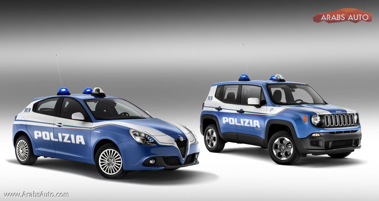 Photo of جيب و ألفا روميو في أسطول سيارات الشرطة الإيطالية