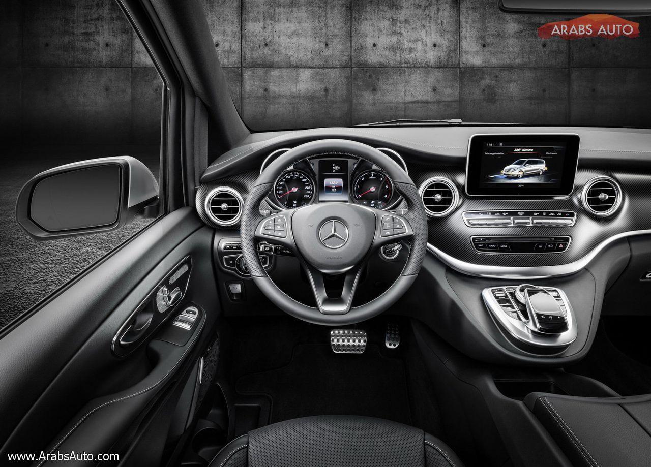 Photo of مرسيدس V-Class للعام 2016، المركبة الأفخم في القطاع بدون منازع