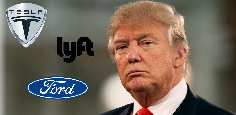 Photo of فورد موتور و تسلا و Lyft تنتقد قرار ترامب بشأن الهجرة