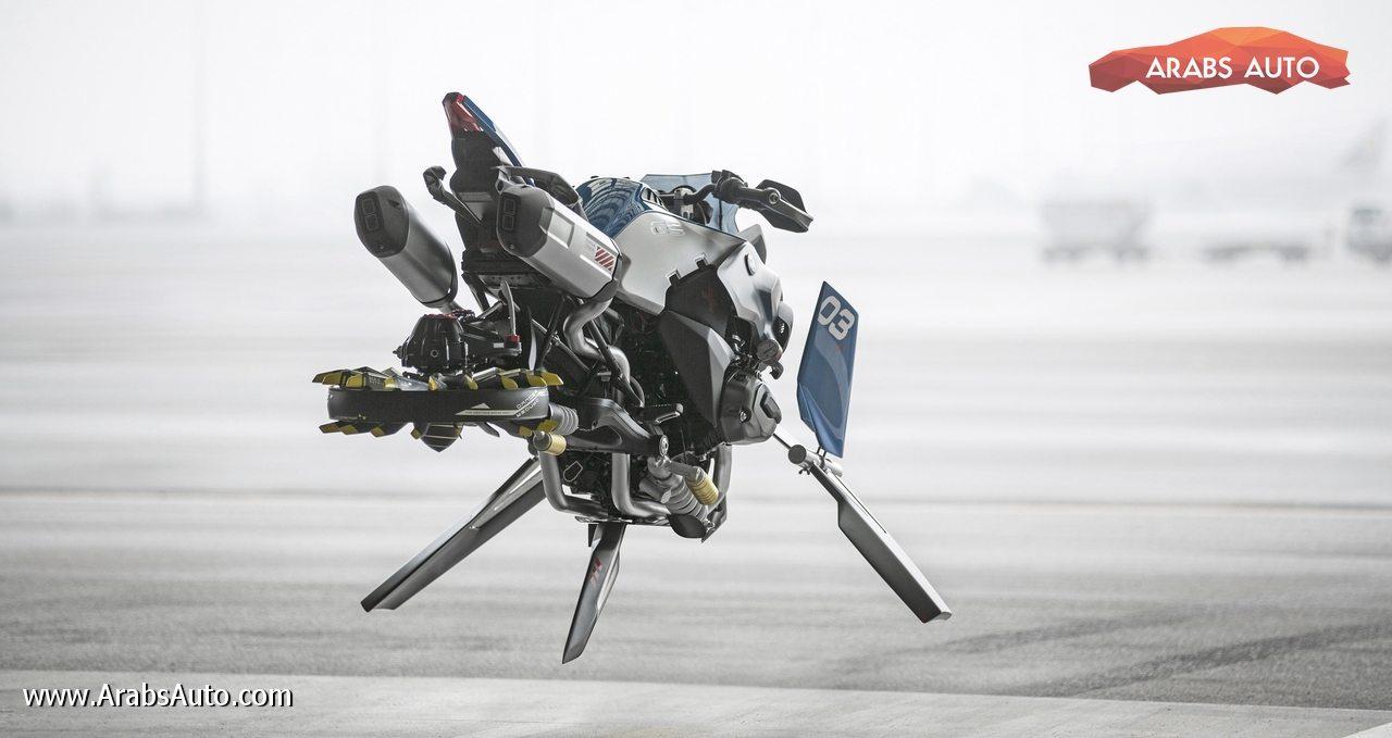 Photo of دراجة طائرة من بي إم دبليو!
