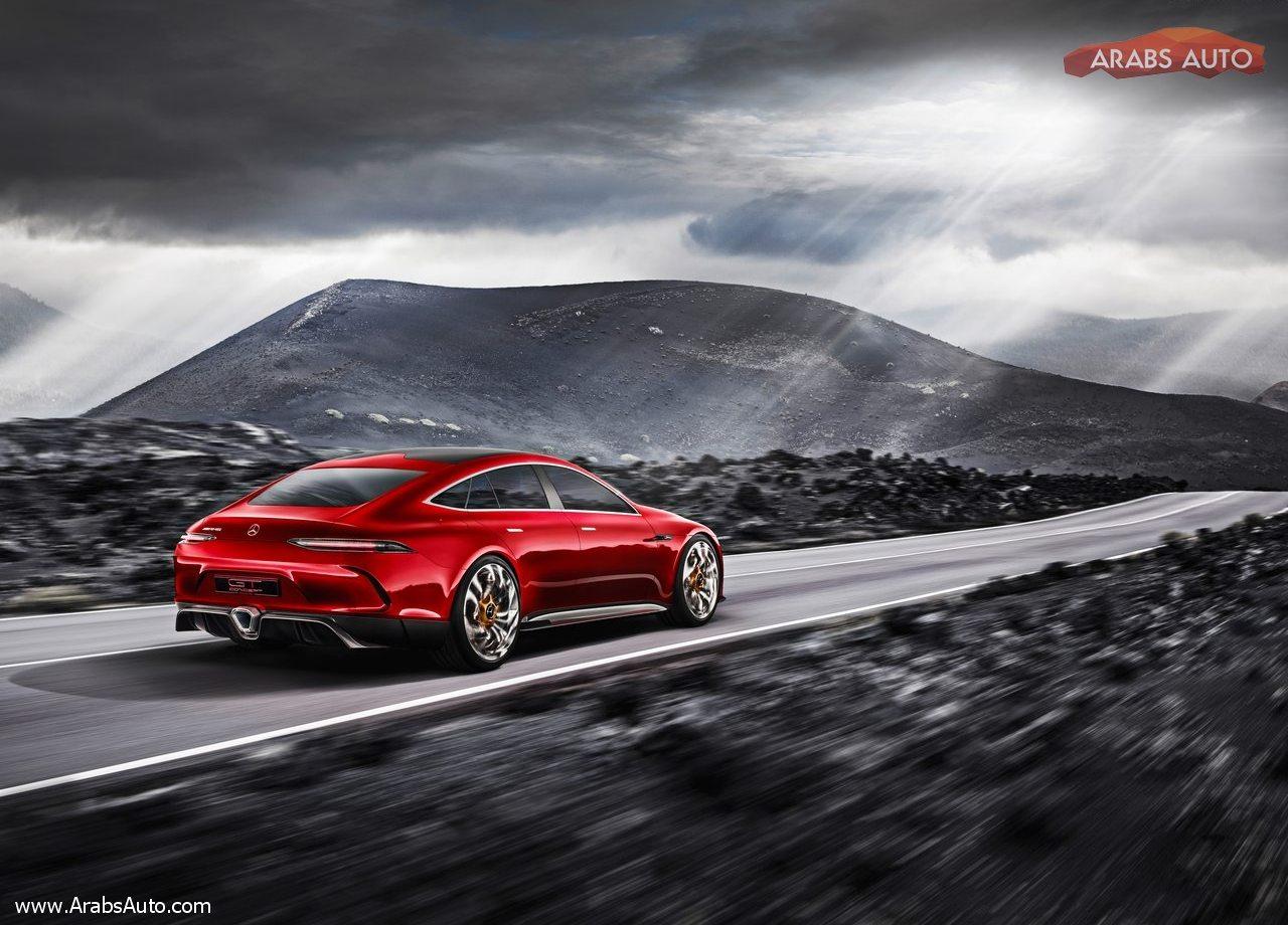 الاختبارية مرسيدس AMG GT