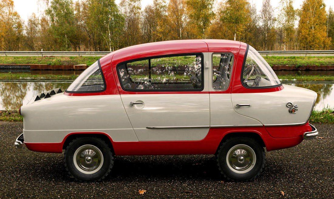 Photo of خمس سيارات صغيرة وغريبة لم تسمع عنها في حياتك