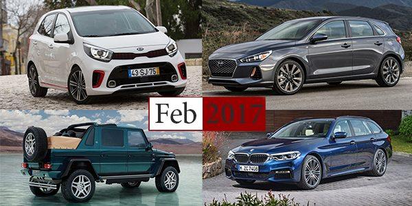 Photo of ملخص أخبار السيارات لشهر فبراير 2017