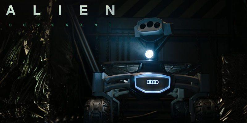 Photo of أودي لونار كواترو ستظهر في فيلم Alien: Covenant