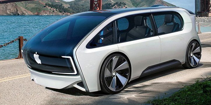 Photo of كل ما نعرفه عن سيارة أبل الكهربائية ذاتية القيادة