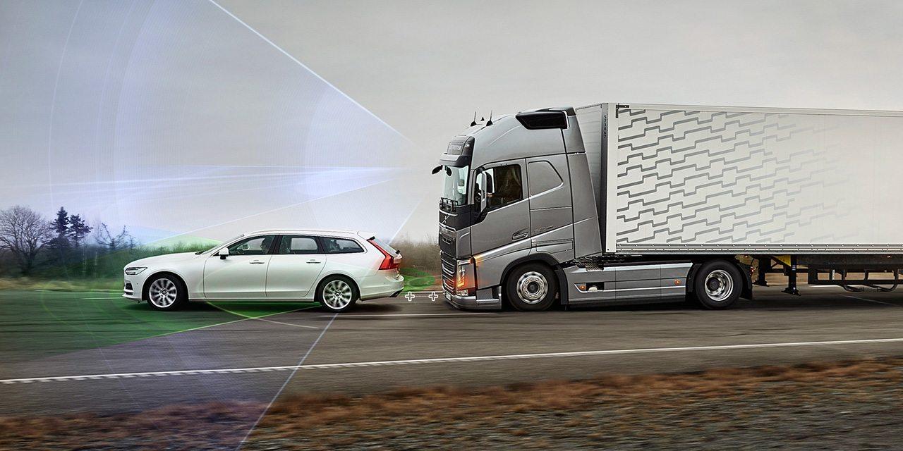 أنظمة سلامة الشاحنات من فولفو