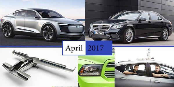 Photo of ملخص أخبار السيارات لشهر أبريل 2017