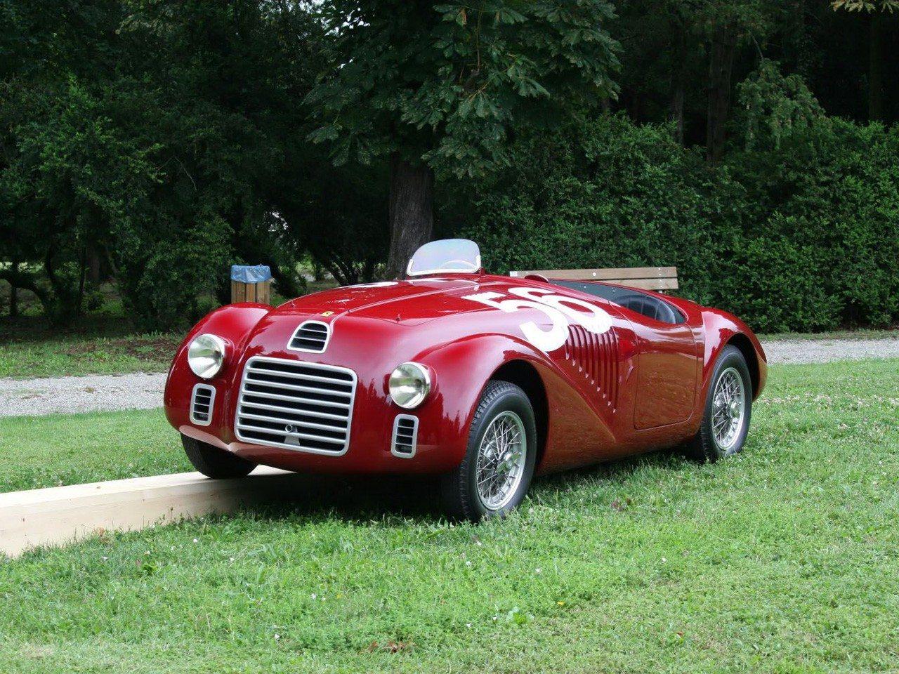 فيراري 125 أول سيارة تحمل اسم الشركة
