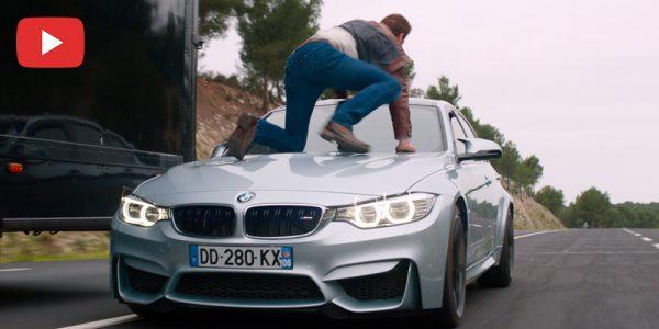 Photo of فيديو: شاهد سيارات بي إم دبليو في فيلم الإثارة أوفردرايف