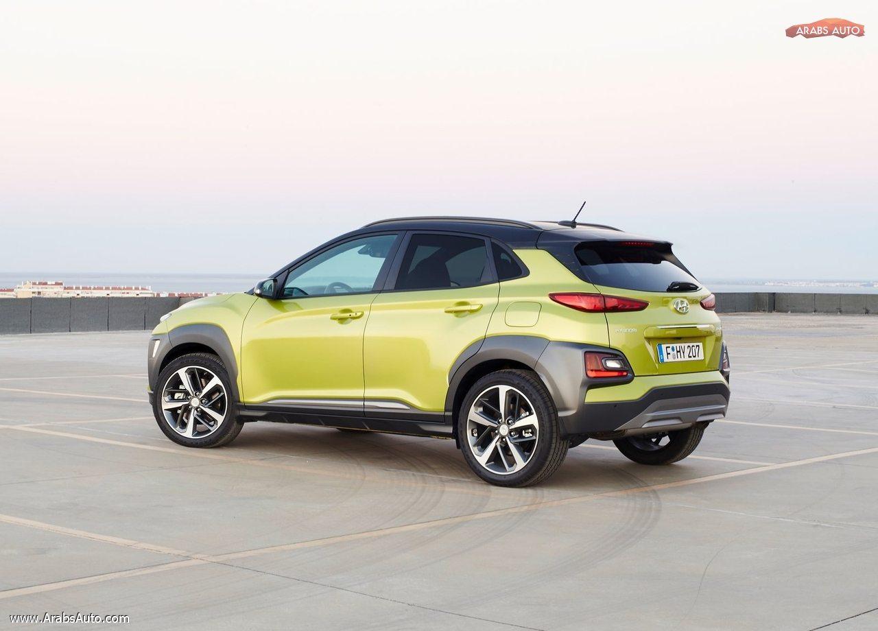 سيارة هيونداي كونا الجديدة 2018