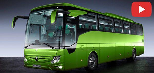 Photo of مرسيدس بنز توريزمو ار اتش دي ترفع معايير السلامة والأمان في الحافلات
