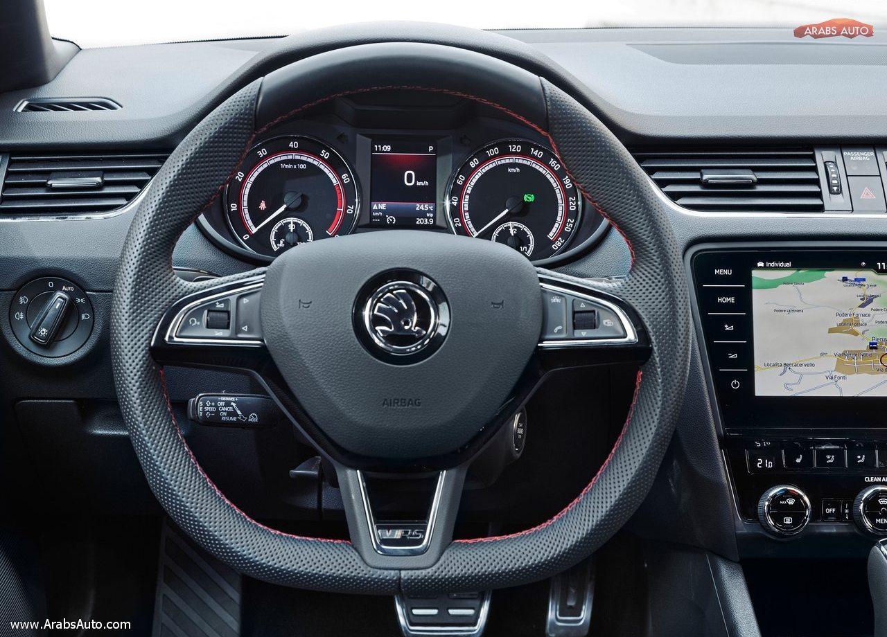 skoda octavia rs 245 combi 2018 arabsauto10 arabs auto. Black Bedroom Furniture Sets. Home Design Ideas