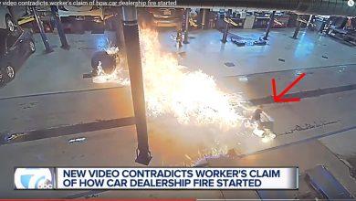Photo of 30 سيارة احترقت لسبب بسيط