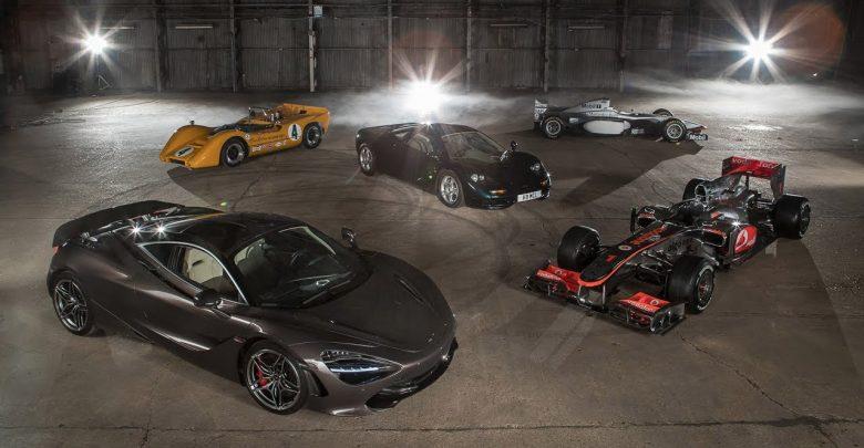 Photo of فيديو: خمس سيارات مميزة من ماكلارين
