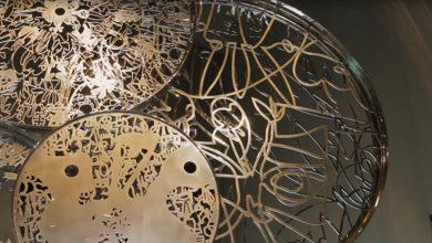 نيسان تكشف عن تمثال عجلات الإبداع من صنع نديم كرم