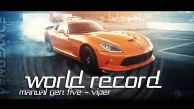 Photo of فيديو: أسرع دودج فايبر في العالم تقطع ربع الميل في 9.28 ثانية
