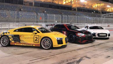 Photo of استعراض أودي RS 3 LMS وأودي R8 في سباق Gulf Run