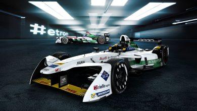 Photo of أودي تقدم سيارة الفورمولا Audi e-tron FE04 الجديدة