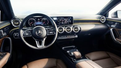 Photo of لوحة القيادة فاخرة جدًا لأصغر سيارات مرسيدس!