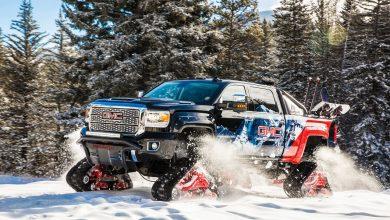 Photo of الاختبارية جي ام سي سييرا 2500HD All Mountain، مرحبًا بالشتاء