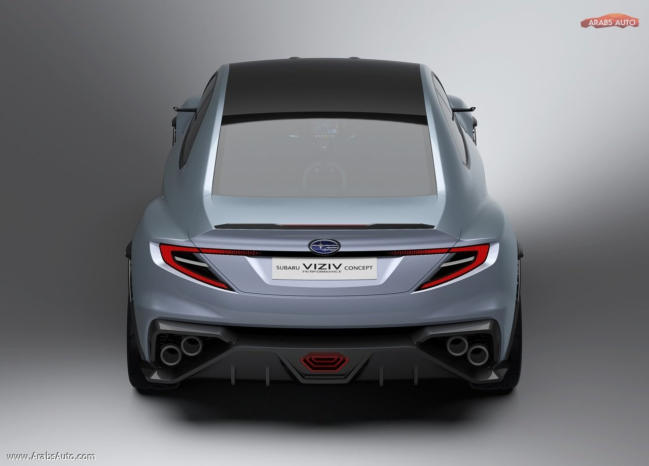 Subaru Viziv Performance Concept 2017 Arabsauto 1 Arabs Auto
