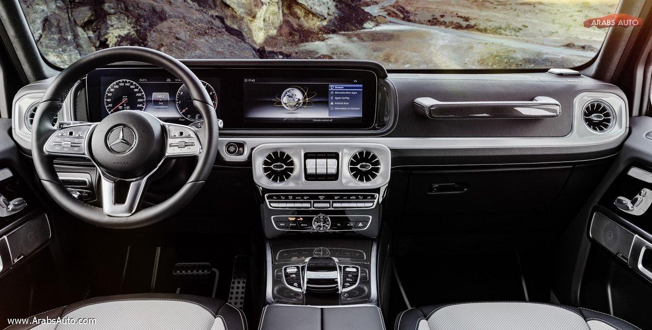 الكشف عن سعر ومواصفات مرسيدس بنز جي كلاس 2019 Arabs Auto