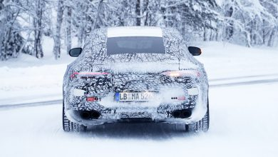 Photo of اختبارات مرسيدس على AMG GT تحضيرًا لمعرض جنيف 2018