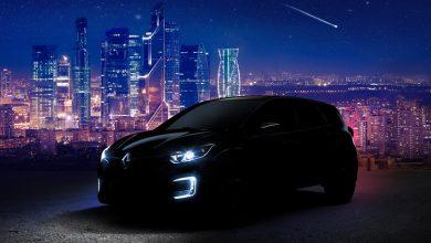 صورة مدمجة كوبيه من رينو إلى معرض موسكو للسيارات 2018