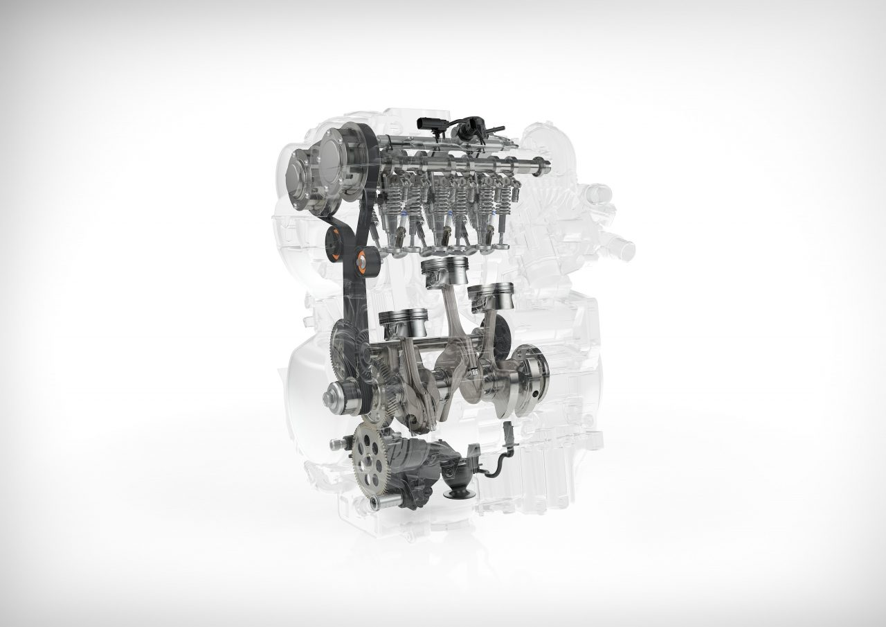 Volvo XC40 engine