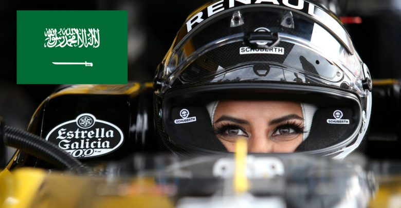 Photo of امرأة سعودية تقود سيارة فورمولا 1 قبل جائزة فرنسا الكبرى