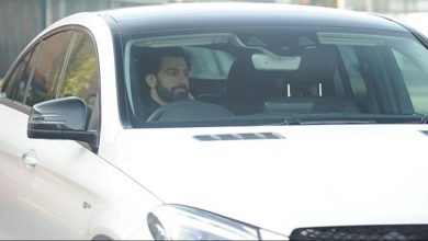 سيارة محمد صلاح