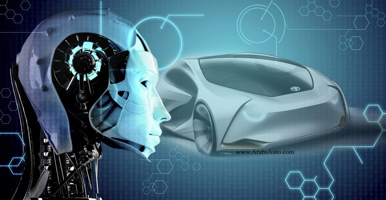 صورة الذكاء الاصطناعي في صناعة السيارات