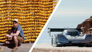 Photo of استخدام الليمون لشجن بطارية سيارة فولكس واجن الكهربائية!
