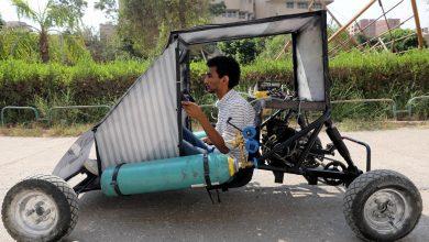 Photo of فيديو: طلاب مصريون يصممون سيارة تعمل بطاقة الهواء