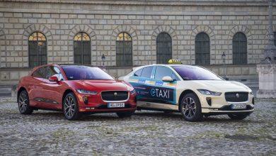 Photo of جاكوار تطلق أول أسطول لسيارات الأجرة الكهربائية بالكامل في ألمانيا