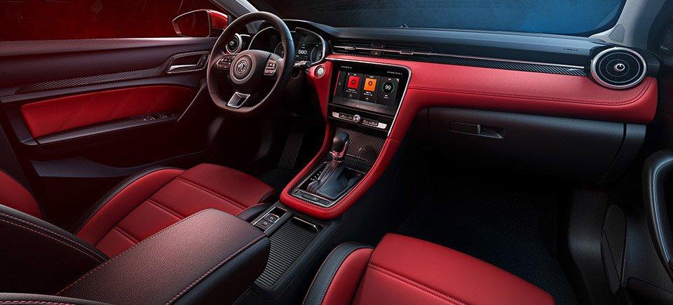 مقصورة سيارة MG6 الجديدة طراز 2019