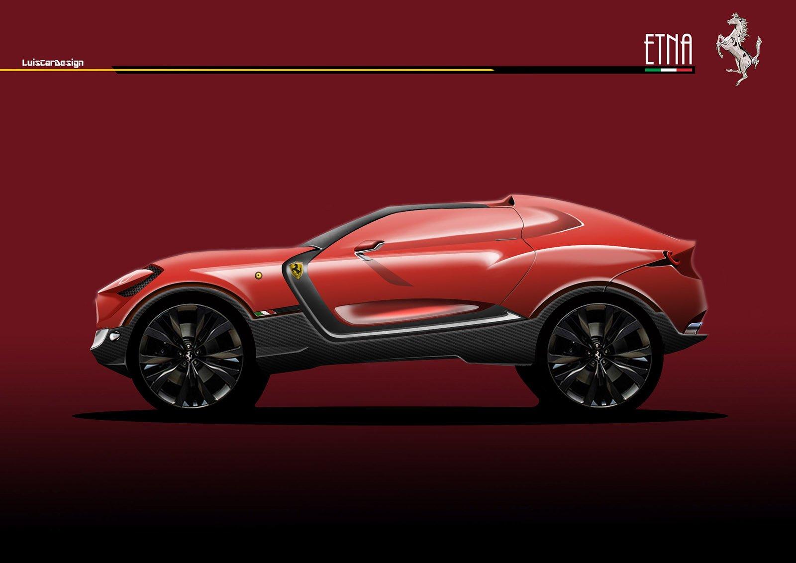 فيراري بوروسانغوي Ferrari Purosangue
