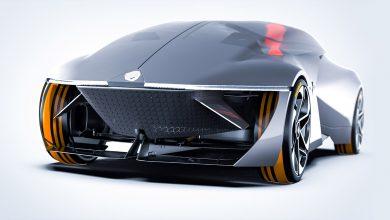 صورة رينو مستقبلية تجمع تصاميم المركبات العائلية مع سيارات الفورمولا 1!