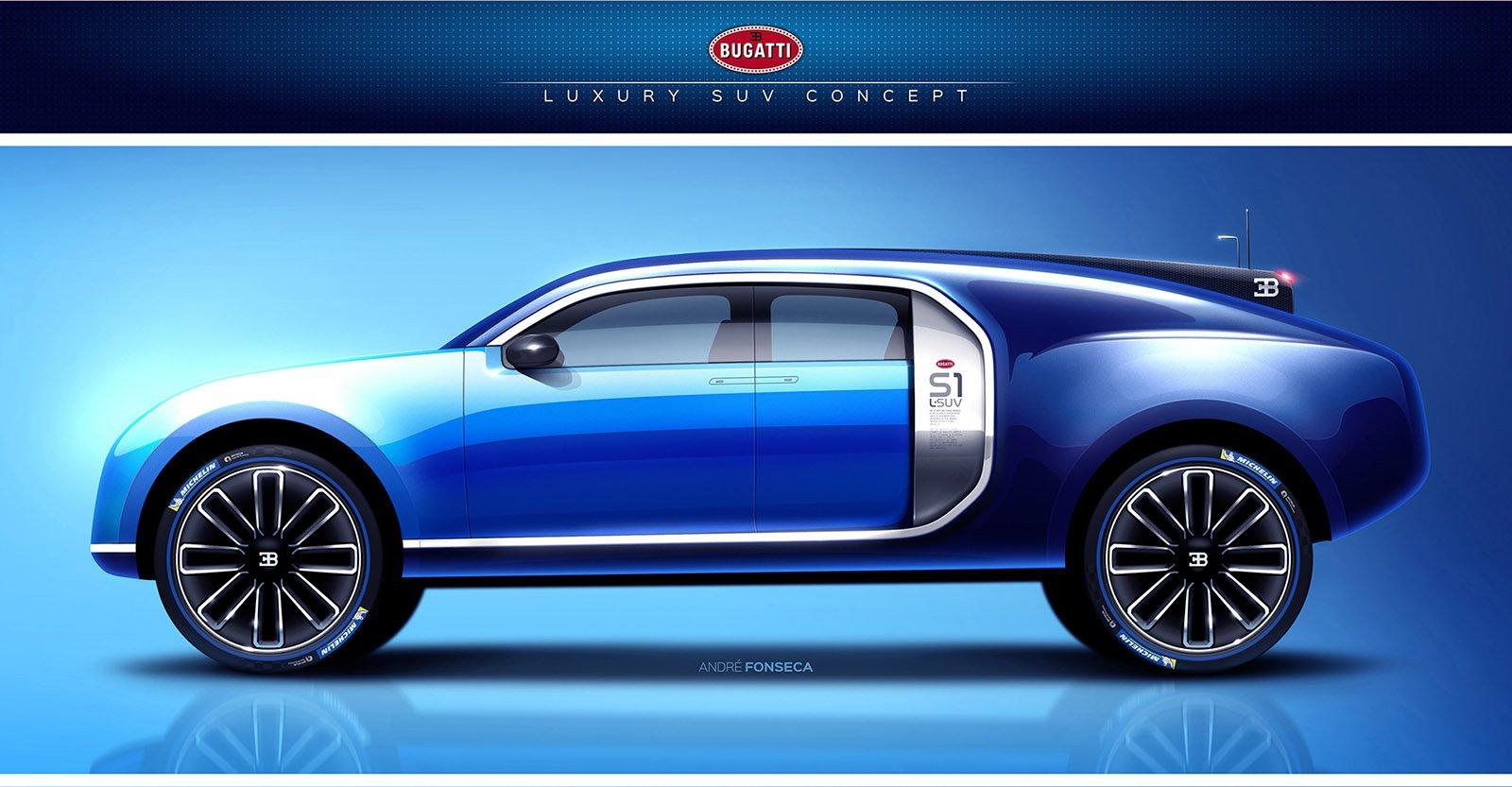 Bugatti SUV render 2 | Arabs Auto