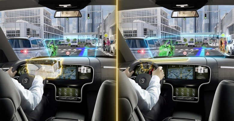 صورة كونتيننتال تطور شاشة عرض أمامية بنظام الواقع المعزَّز